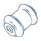 Сайлентблоки, втулки и стойки стабилизатора